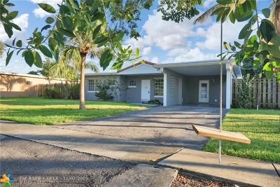 Margate Single Family Home For Sale: 6420 NW 23rd St