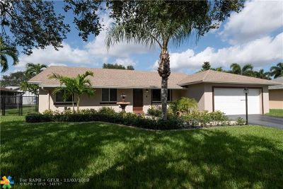 Davie Single Family Home For Sale: 1301 SW 128th Dr