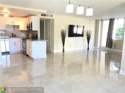 Pompano Beach Condo/Townhouse For Sale: 301 N Ocean Blvd #205
