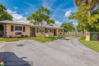 Pompano Beach Multi Family Home For Sale: 2061 NE 25th Ave