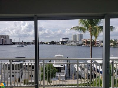 Hallandale Condo/Townhouse For Sale: 120 Golden Isles Dr #34B