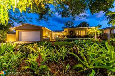 Wilton Manors Single Family Home For Sale: 2040 NE 21st Ct