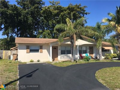 Deerfield Beach Multi Family Home For Sale: 1467-69 SE 4th Ave