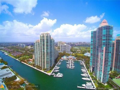 Aventura Condo/Townhouse For Sale: 3340 NE 190th St #1003