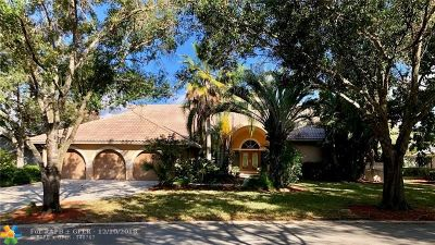 Coral Springs Single Family Home Backup Contract-Call LA: 12049 Eagle Trace Blvd North