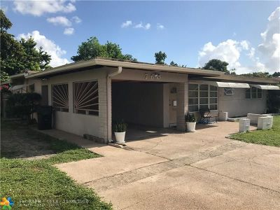 Fort Lauderdale Single Family Home For Sale: 760 W Evanston Cir