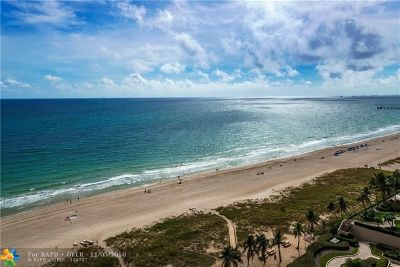 Lauderdale By The Sea Condo/Townhouse Backup Contract-Call LA: 5000 N Ocean Blvd #PH1709