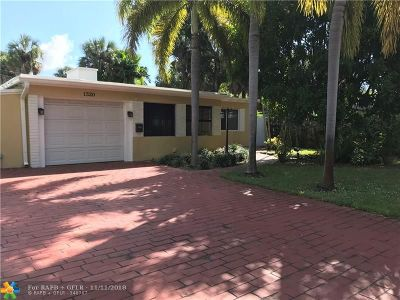 Fort Lauderdale Single Family Home For Sale: 1320 SW 18th Ave