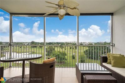 Pompano Beach Condo/Townhouse For Sale: 2671 S Course Dr #810