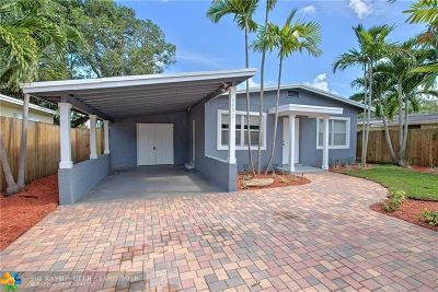 Fort Lauderdale Single Family Home For Sale: 1132 NW 7th Terrace