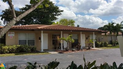 Coral Springs Multi Family Home For Sale: 4117 Riverside Dr