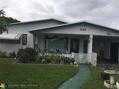 Lauderdale Lakes Single Family Home For Sale: 3581 NW 37th Ave