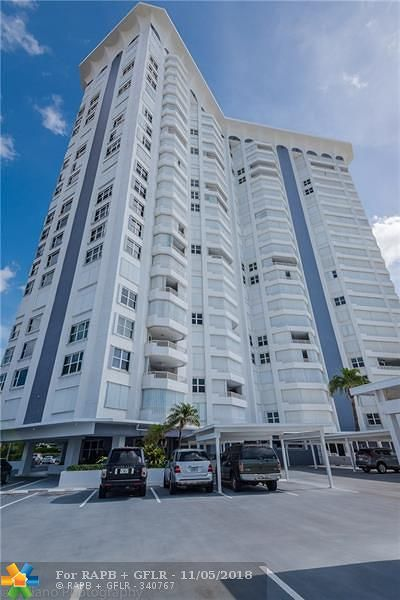 Pompano Beach Condo/Townhouse For Sale: 1340 S Ocean Blvd #609