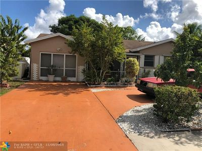 Boca Raton Single Family Home For Sale: 22682 SW 54th Way