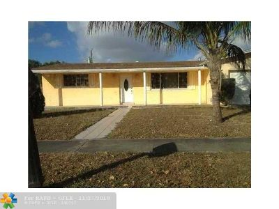 West Park Single Family Home For Sale: 4550 SW 32nd Dr