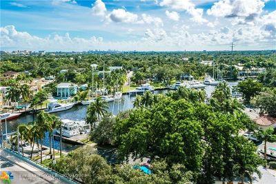 Fort Lauderdale Condo/Townhouse For Sale: 600 W Las Olas #1002