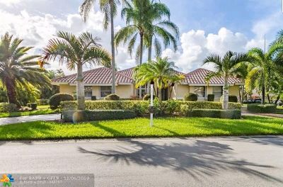 Coral Springs Single Family Home For Sale: 5060 NW 82nd Ter