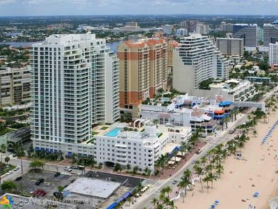 Fort Lauderdale Condo/Townhouse For Sale: 101 S Fort Lauderdale Beach Blvd #1404