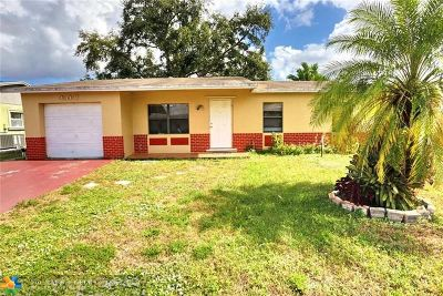 North Lauderdale Single Family Home For Sale: 309 SW 80th Ter