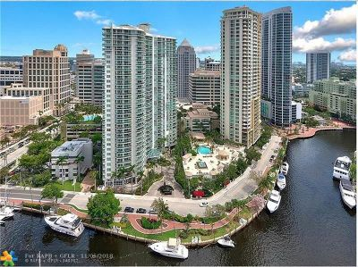 Fort Lauderdale Condo/Townhouse For Sale: 511 SE 5th Ave #910