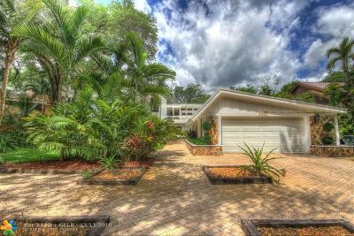 Fort Lauderdale, Lauderdale By The Sea, Lighthouse Point, Oakland Park, Pompano Beach Single Family Home For Sale: 5951 SW 37th Ter