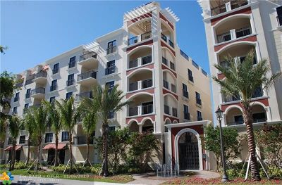 Condo/Townhouse For Sale: 2501 N Ocean Blvd #450