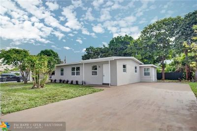 Lauderhill Single Family Home For Sale: 3550 NW 2nd St