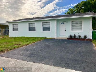 Fort Lauderdale Single Family Home For Sale: 2121 NW 28th Ter