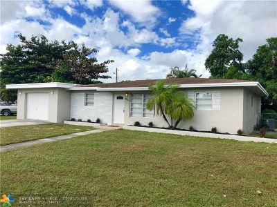 Miramar Single Family Home For Sale: 6857 SW 22nd Ct