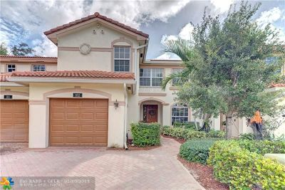 Delray Beach Condo/Townhouse For Sale: 6320 Ginger Trl #102
