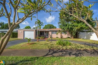 Wilton Manors Single Family Home For Sale: 729 NW 29th Court