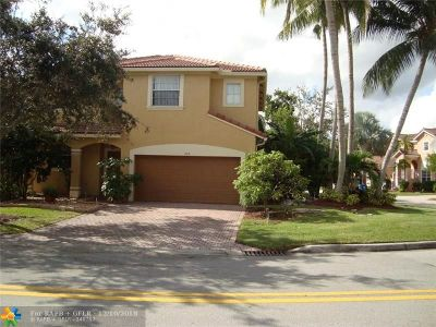 Coral Springs Single Family Home For Sale: 904 NW 126th Ave