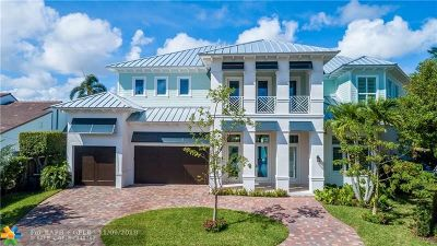Fort Lauderdale, Lauderdale By The Sea, Lighthouse Point, Oakland Park, Pompano Beach Single Family Home For Sale: 2395 NE 28th St