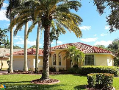 Coral Springs Single Family Home For Sale: 4225 NW 65th Ave