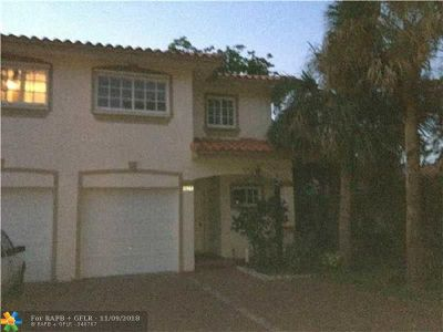 Coral Springs Rental For Rent: 11541 NW 44th St #11541