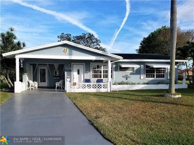 Tamarac Single Family Home For Sale: 5018 NW 49th Rd