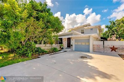 Pompano Beach Single Family Home For Sale: 705 NE 12th Ave