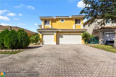 Coral Springs Single Family Home For Sale: 12149 NW 46th St