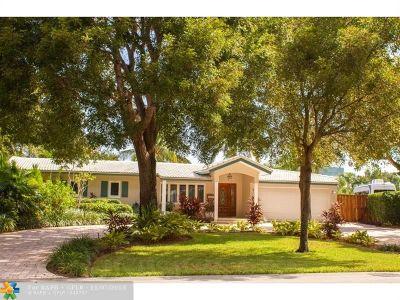 Fort Lauderdale Single Family Home For Sale: 5416 NE 21st Ter