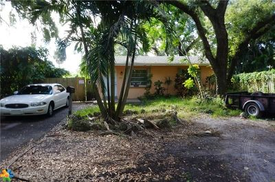 Fort Lauderdale Single Family Home For Sale: 1502 SW 25th St