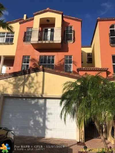 Fort Lauderdale Condo/Townhouse For Sale: 1421 NE 26th Ave #1421
