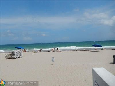 Fort Lauderdale Condo/Townhouse For Sale: 4040 Galt Ocean Dr #819