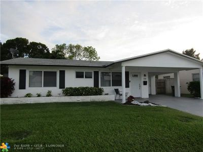 Tamarac Single Family Home For Sale: 3000 NW 46th St