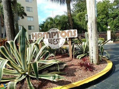 North Lauderdale Condo/Townhouse For Sale: 8030 Hampton Blvd #408