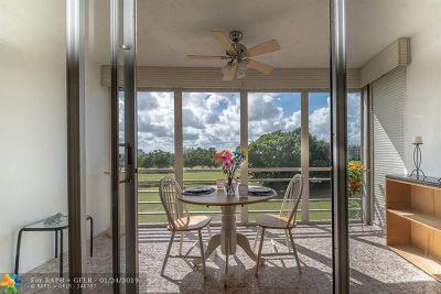 Pompano Beach Condo/Townhouse For Sale: 2691 S Course Dr #409
