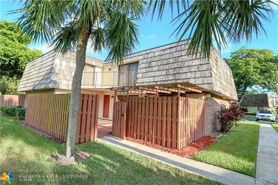 North Lauderdale Condo/Townhouse Backup Contract-Call LA: 8313 N Coral Cir #8313