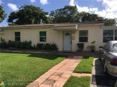 Fort Lauderdale Single Family Home For Sale: 1524 NW 15th Street