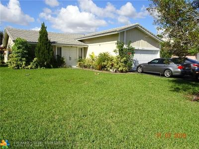 Coral Springs Single Family Home For Sale: 3248 NW 122nd Ave