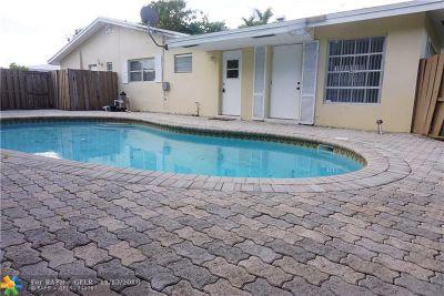 Fort Lauderdale Rental For Rent: 5499 NE 22 Ave