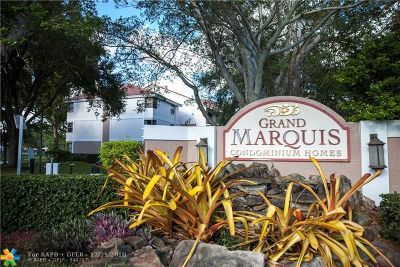 Plantation Condo/Townhouse For Sale: 10111 W Sunrise Blvd #303